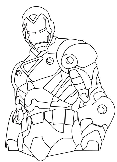 printable coloring pages iron iron 2 coloring pages collections