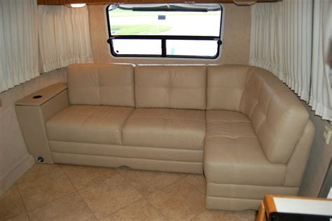 airstream couch villa sofas rv renovations by classic coach works