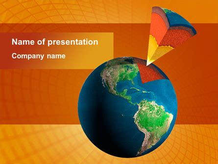 powerpoint themes geology geological strata presentation template for powerpoint and