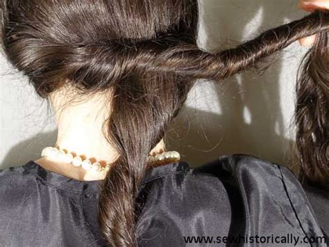 1920 Hairstyles Tutorial by 1920s 30s Hairstyle Tutorial For Hair Sew Historically