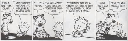 Calvin and hobbes last comic strip car tuning