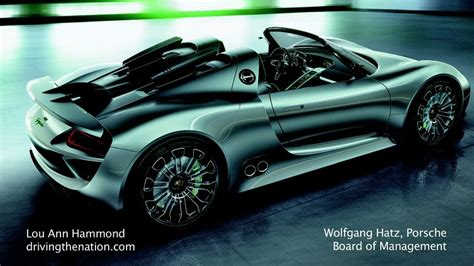 Wolfgang Hatz Porsche by Wolfgang Hatz Porsche Board Of Management On