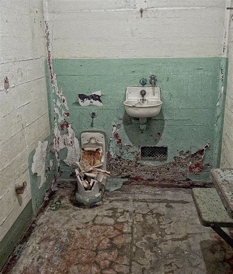 Bunk And Desk Alcatraz Vandalized Cell Photograph By Daniel Hagerman