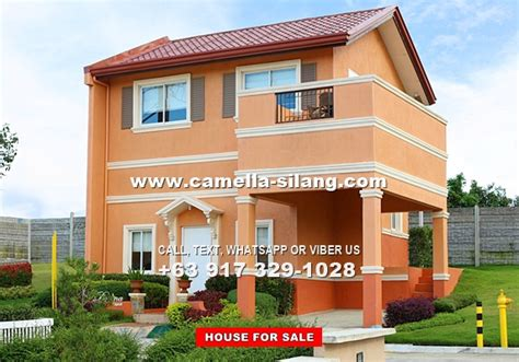 camella silang house and lot near tagaytay city camella silang tagaytay dorina house and lot for sale in