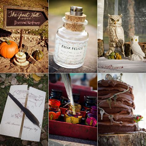Photos Of Harry Potter Themed Harry Potter Theme Weddings The Sue