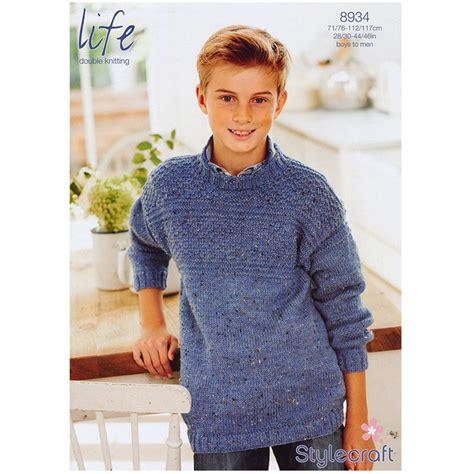Fashion Boy Mc 9 I Bs3106 boy s jumper in stylecraft dk 8934