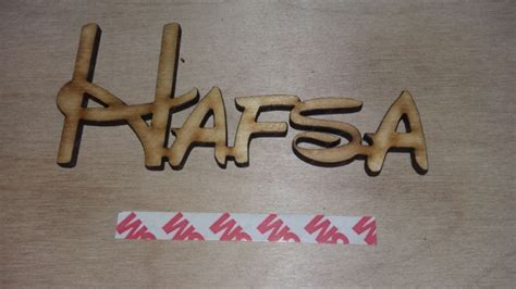 what does wood symbolize hafsa wooden name plaque 6 99
