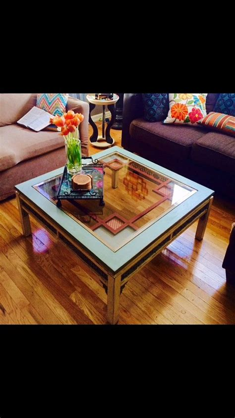 chalk paint glass table 31 best images about coffee tables on copper