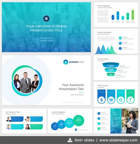 Classy Business Presentation Template With Clean Elegant Ppt Slide Designs Business Slide Presentation Template
