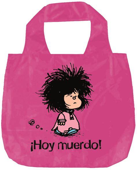 libro mafalda hoy muerdo grande bolsa plegable mafalda hoy muerdo ne