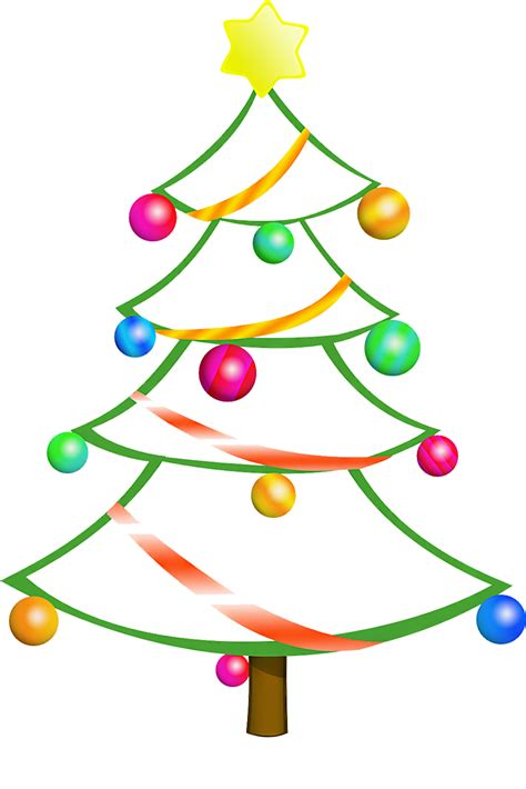 christmas tree cartoon ria9dedil public domain merry tree clipart clipartxtras