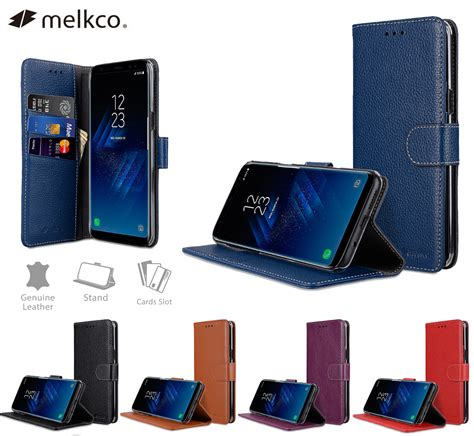 Melkco Wallet Book Samsung Galaxy Alpha melkco premium cow leather cover for samsung galaxy s8 plus wallet book clear type stand