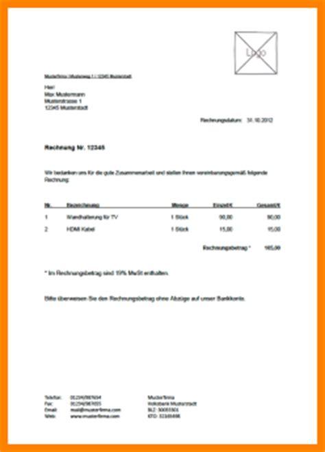 Muster Rechnung Privat 5 Rechnung Schreiben Privat Muster Sponsorshipletterr