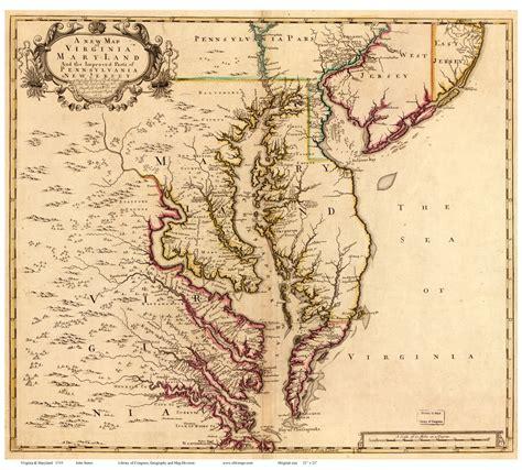 maryland bay map maryland