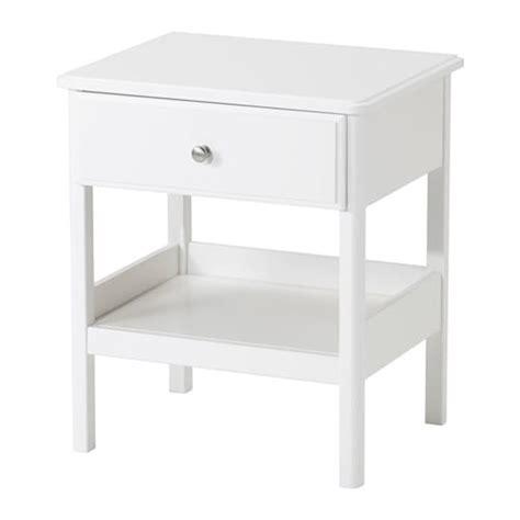 White Nightstands Ikea by Tyssedal Nightstand Ikea