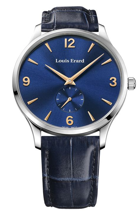 louis erard louis erard 1931 small seconds debuts at baselworld 2012
