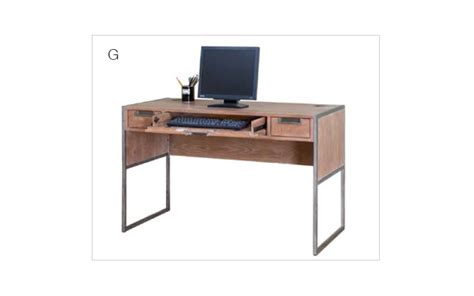 Office Desk Wire by Martin Office Belmont Series Steel Frame Wire Brushed