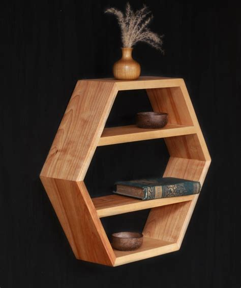 Handmade Modern Wood Furniture - 22 best images about wall boxes on hexagon box