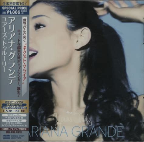 Grande Yours Truly Cd grande yours truly japanese promo cd album cdlp 616279