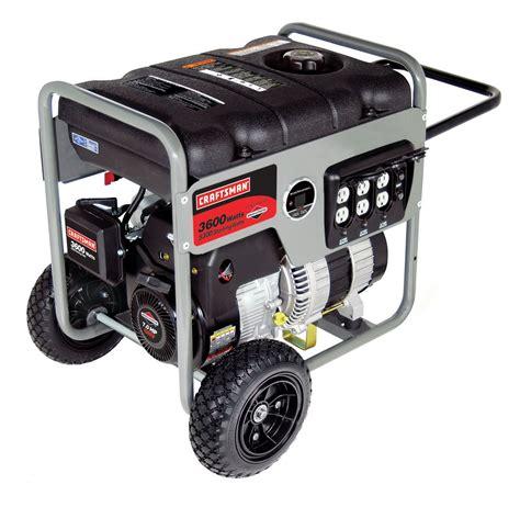 craftsman 030250 briggs stratton generator 3600