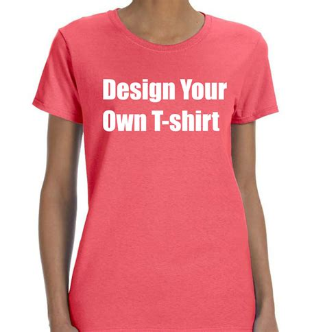 Make Your Own Shirt Custom T Shirts Personalized Tees Make Your Own Make