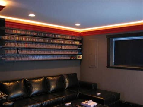 video game room ceiling lightning  purple  blue