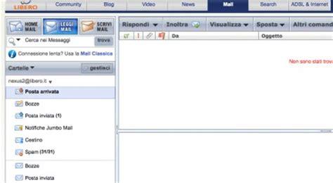 libero mail login mobile mail libero creazione e configurazione della posta di