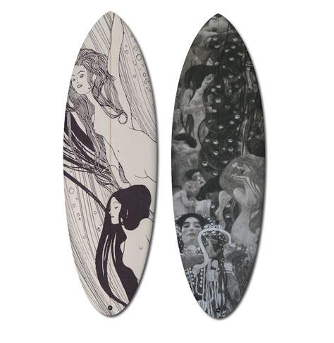 designboom gustav klimt boom art uwl presents limited edition 504 series surf