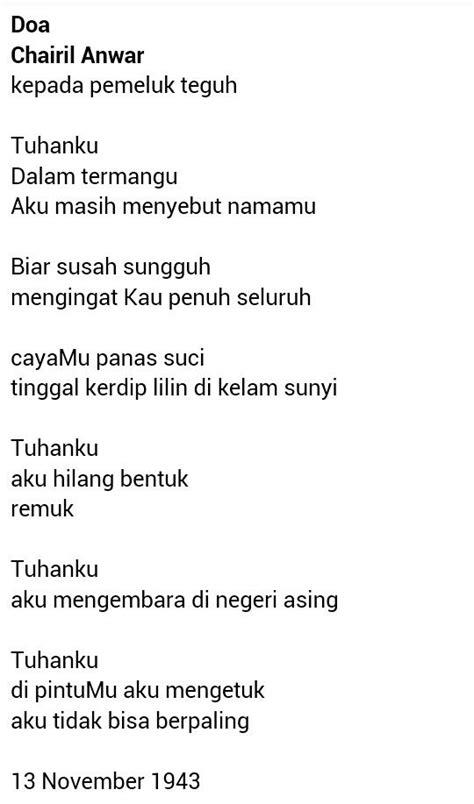 Novel Aku Chairil Anwar | Cikimm.com