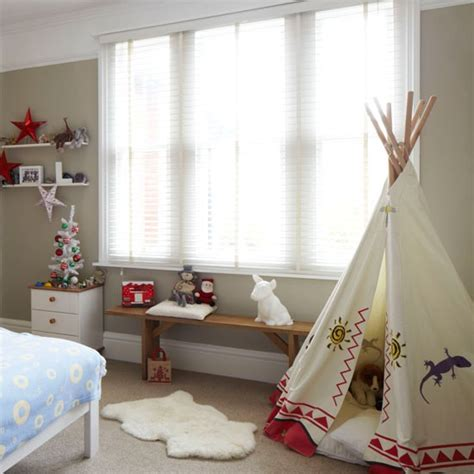 Bedroom Play Ideas by Neutral Boy S Bedroom With Play Tent Brilliant
