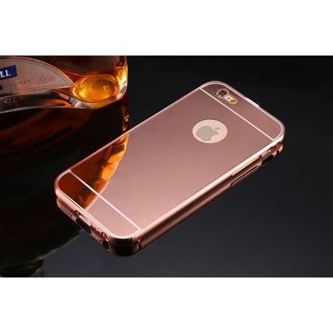 Jetblack Chrome Iphone 5 5s Se 6 6s 6 Plus 7 7 Plus miroir coque iphone 6 6s or achat coque bumper