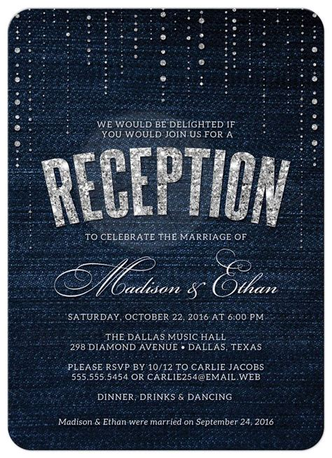 Wedding Concept Sle by Invitation Email For Marriage Reception Chatterzoom