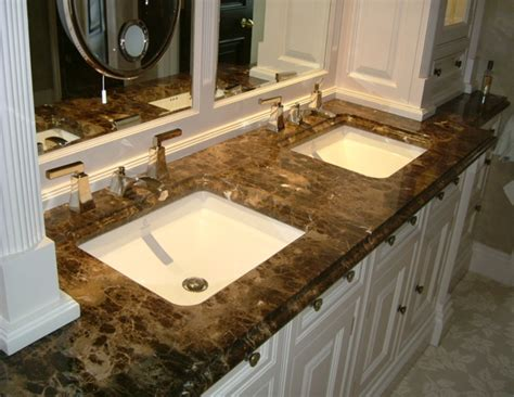 Stained Marble Countertop by Emperador Stained Marble Countertops Vanity