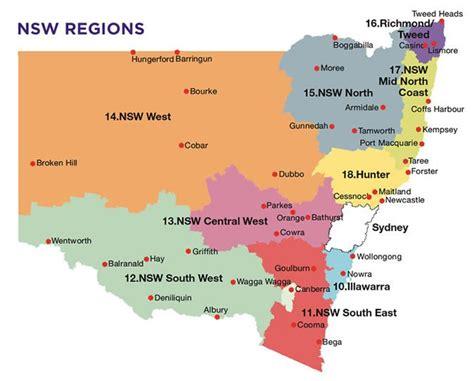 map of nsw australia map of nsw search australia australia