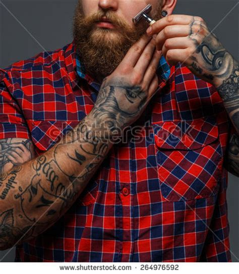 brutal nation tattoo colorado springs flesh tunnel stock photos images pictures shutterstock