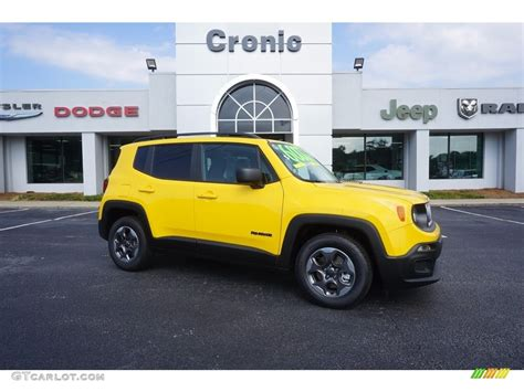 jeep yellow 2017 2017 solar yellow jeep renegade sport 121059310 photo 16