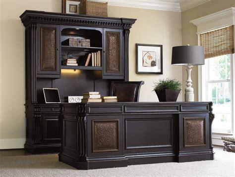 Home Executive Office Furniture Telluride Computer Credenza Hutch Computer Desks