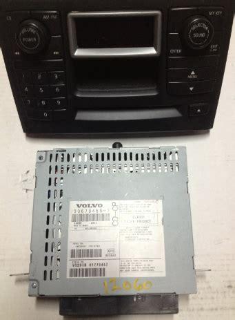 volvo xc90 cd changer volvo xc90 icm numeric radio panel w screen w 6 cd