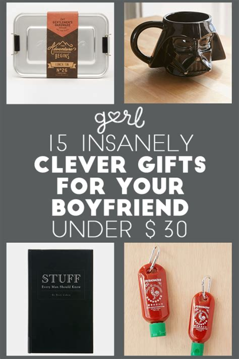 gurl com 15 insanely clever gift ideas for your boyfriend