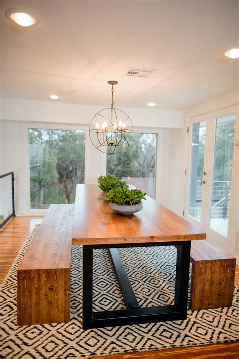 Dining Room Tables Hgtv Photos Hgtv S Fixer With Chip And Joanna Gaines Hgtv