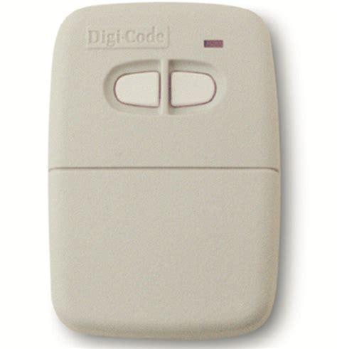 Multi Code Garage Door Remote Digi Code 5060 Remote Compatible With Multi Code 4120 Gate Or Garage Door Opener Remote Digicode
