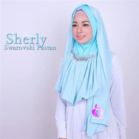 Khimar Sequin Rainbow By Sayra quot nunay shop quot sherly swarovski pastan by apple
