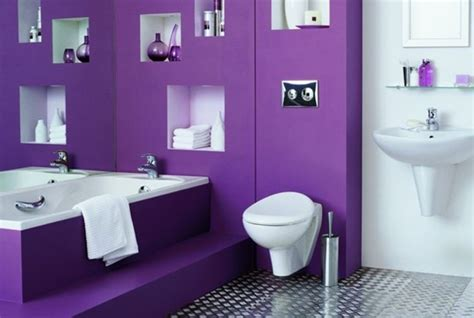 Charmant Peinture Verte Salle De Bain #2: 6formidable-id%C3%A9e-salle-de-bain-mauve-modele-salle-de-bain-luxe-somptueuse.jpg