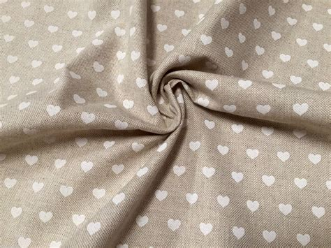 white cotton upholstery fabric white heart canvas upholstery curtain cotton fabric
