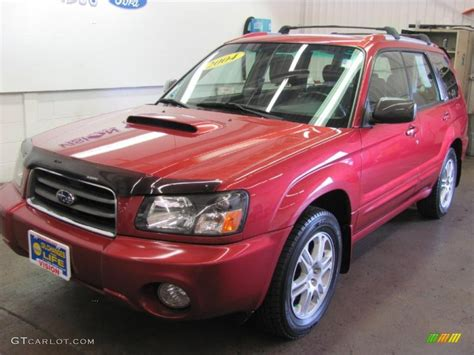 red subaru forester 2016 2004 subaru forester red 200 interior and exterior images
