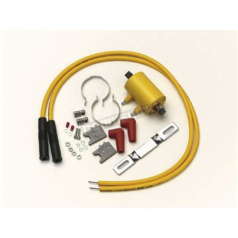 accel coil resistor accel coil kit w 3 ohm resistance coil 2 kit 140403s harley motorcycle goldwing