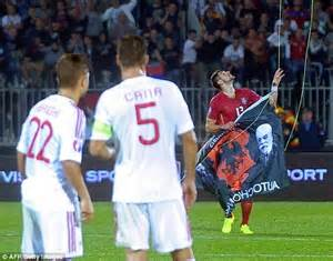 albania awarded victory in 2016 qualifier with serbia
