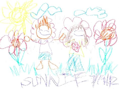 Drawing 3 Year by Sheena And Eugene 5 Year Drawing Style By Chibisunnie