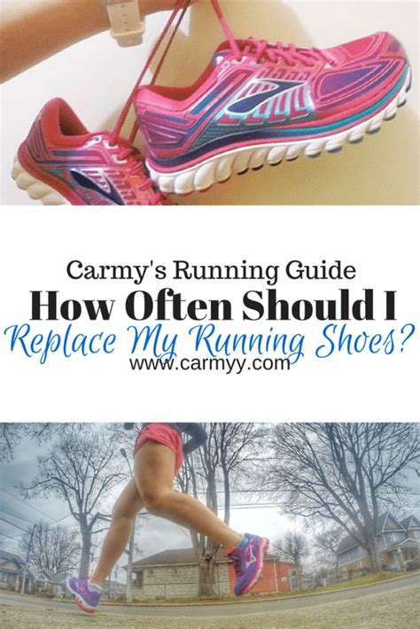 how often change running shoes how often should i replace my running shoes carmy run