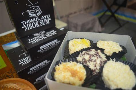 Makanan Tradisional Makanan Tradisional Tiwul Instant Cita Rasa Alami 1 thiwul ayu mbok sum jajanan tradisional dari mangunan